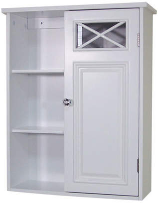 """Darby Home Co Coddington with Single Door and Shelves 20"""" W x 25"""" H Wall Mounted Cabinet"""