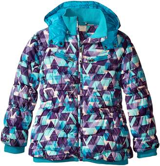 Roxy Big Girls' Shredding Hooded Coat