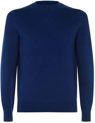 A.P.C. Cotton-Cashmere Logo Printed Sweater