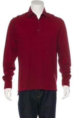 Isaia Long Sleeve Polo Shirt