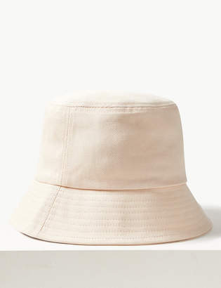 a422f2f071d Marks and Spencer Pure Cotton Modern Bucket Sun Hat