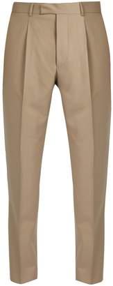 Officine Generale Marcel slim-leg cotton trousers