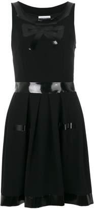 Moschino bow print dress