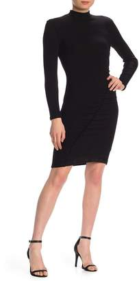 Splendid Sylvie Ruched Ribbed Dress