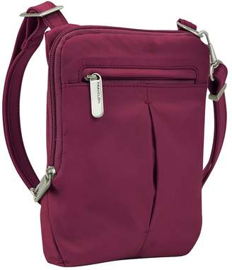 Travelon Anti-Theft Classic Slim Mini Crossbody Bag