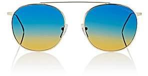 Illesteva Women's Mykonos 2 Sunglasses-Gold