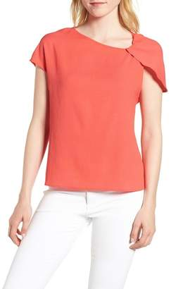 Trouve Trouv? Asymmetrical Shoulder Top