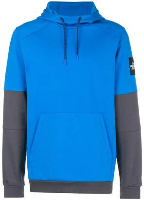 The North Face contrast sleeves hoodie