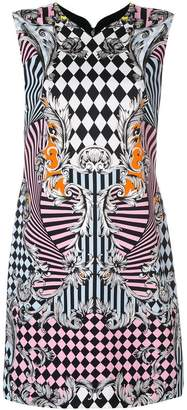 Versace printed mini dress