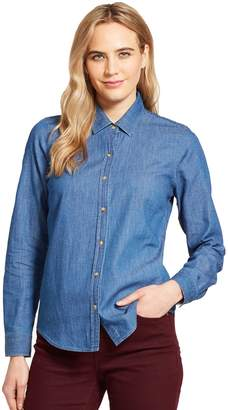 Izod Women's Button-Front Shirt