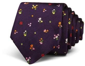 Paul Smith Floral Skinny Tie