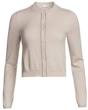 Brunello Cucinelli Women's Cropped Cashmere Cardigan