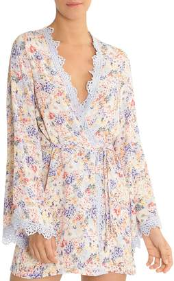 Jonquil In Bloom by Floral Short Robe