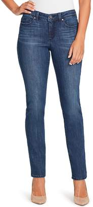 Bandolino Women's Millie Curvy Fit Slim Straight-Leg Jeans