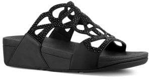FitFlop Bumble Crystal Sandals