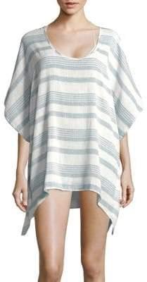 Elan International Striped Cotton Coverup