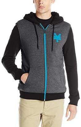 Zoo York Men's Long Sleeve Sherpa Hoodie Zip-up Sweatshirt