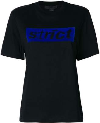 Alexander Wang Strict T-shirt