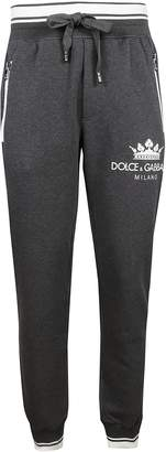 Dolce & Gabbana Printed Zipped Track Pants
