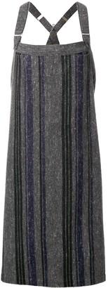 Yohji Yamamoto Pre-Owned strapped long dress