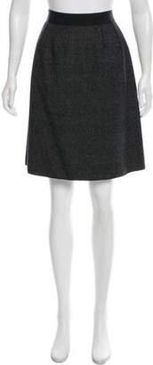 Dolce & Gabbana Virgin Wool Knee-Length Skirt