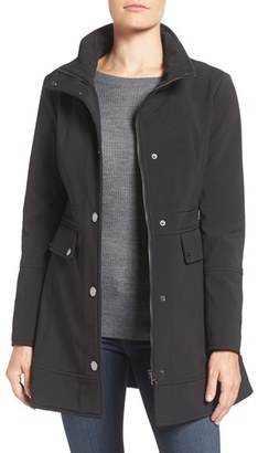 GUESS Soft Shell Jacket $138 thestylecure.com