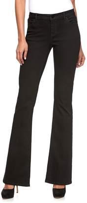 JLO by Jennifer Lopez Women's Midrise Curvy Fit Bootcut Jeans