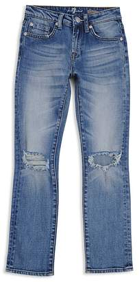 7 For All Mankind Boys' Distressed Straight-Leg Jeans - Little Kid, Big Kid