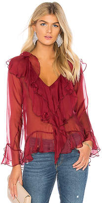 Winona Australia Waterfall Silk Top