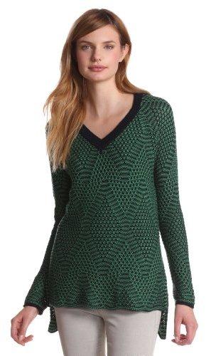 BCBGMAXAZRIA Women's Emmy V-Neck Pullover Sweater