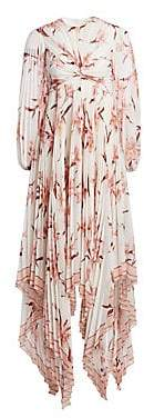 Zimmermann Women's Corsage Orchid Pleated Maxi Dress