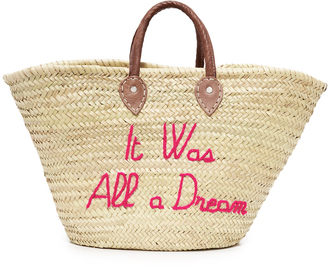 Poolside Bags It Was All a Dream Tote $175 thestylecure.com