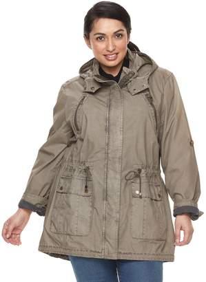 Levi's Levis Plus Size Hooded Fishtail Anorak Jacket
