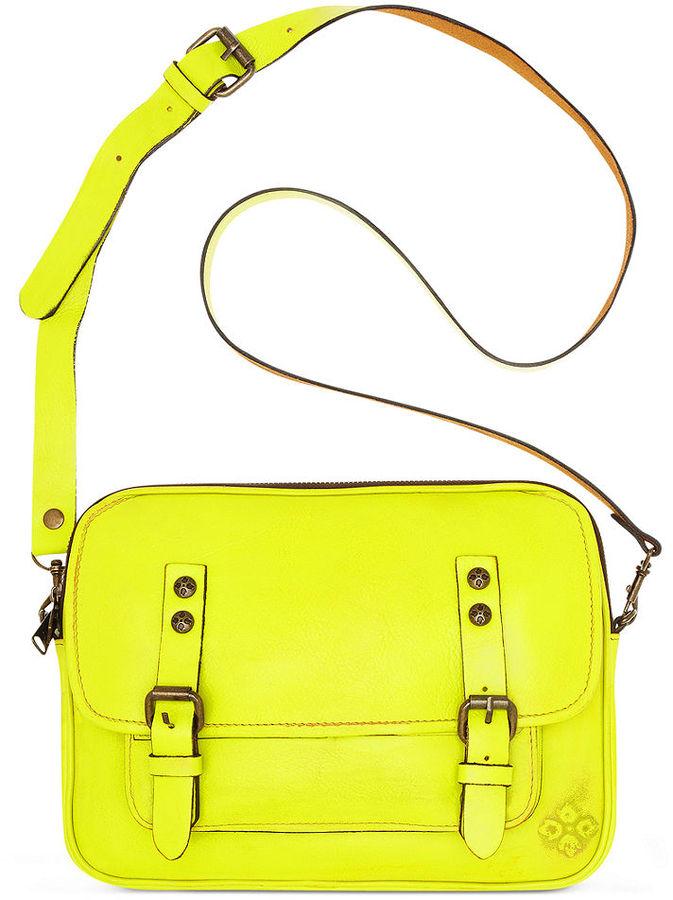 Patricia Nash Handbag, Over-Dyed Leon Flap Crossbody