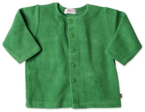 Zutano Infant Unisex-Baby Fleece Jacket, Apple, 12 Months