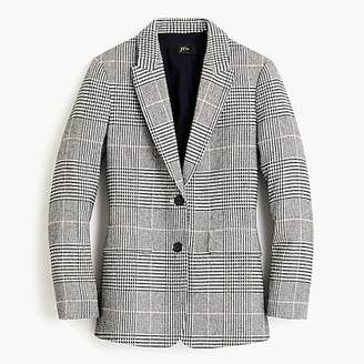 J.Crew Oversized blazer in glen plaid