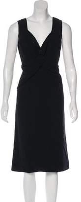 Giorgio Armani Beaded Silk Dress