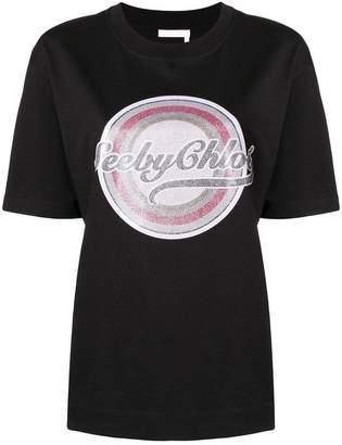 See by Chloe logo-printed T-shirt