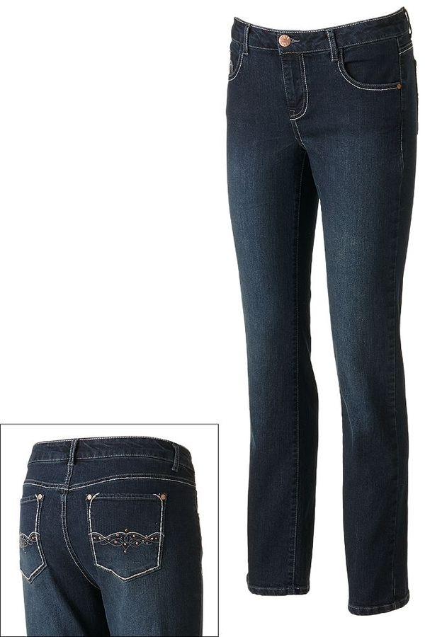 1010 Skinny Bootcut Jeans - Women's