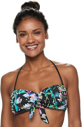 Apt. 9 Women's Bust Enhancer Bandeau Bikini Top