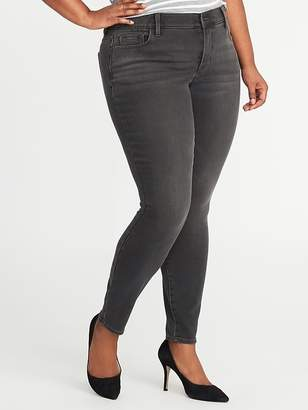 Old Navy Smooth & Contour Plus-Size Secret-Soft Rockstar Jeans