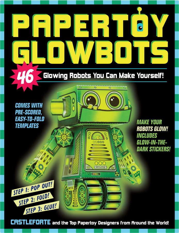 Workman Publishing Papertoy Glowbots