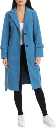 AVEC LES FILLES Double Face Walker Coat