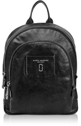 Marc Jacobs Glossy Leather Mini Double Backpack