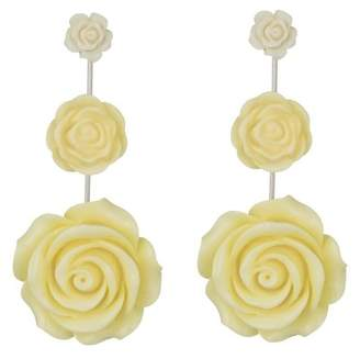 Dannijo Beck Graduated Flower Drop Earrings