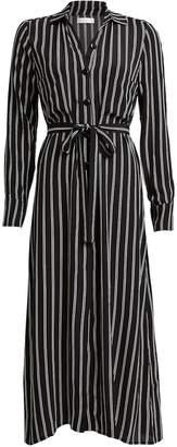 Flynn Skye Sabrina Striped Shirt Dress