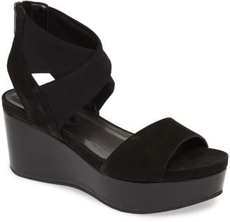 Pelle Moda Lilo Platform Wedge Sandal