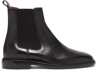 Isabel Marant Chelay Leather Chelsea Boots - Womens - Black