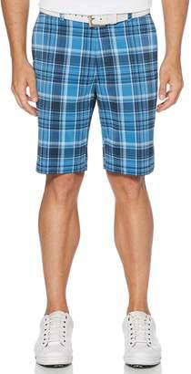 Grand Slam Mens Jack Nicklaus Flat Front Plaid Shorts