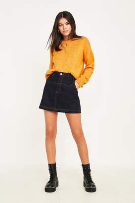 BDG Western Denim Mini Skirt